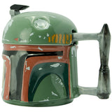 Boba Fett's Helmet - 3D Star Wars Mug | Happy Piranha