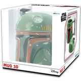 Boba Fett's Helmet - 3D Star Wars Mug in its Packaging | Happy Piranha