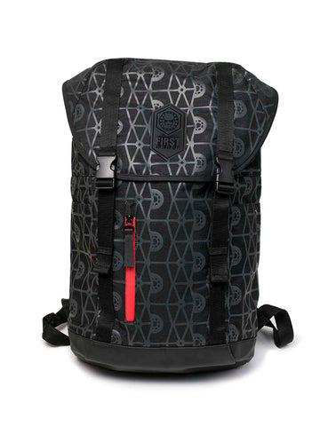 Star Wars First Order Backpack front design | Happy Piranha