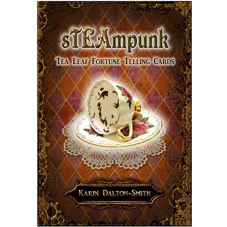 Steampunk Tea Leaf Fortune Telling Cards | Happy Piranha