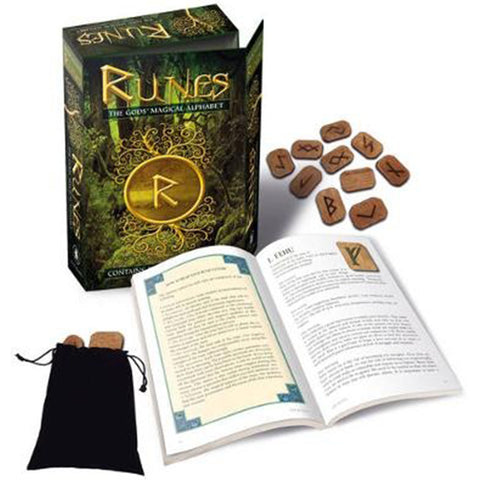 The God's Magical Alphabet Runes Kit | Happy Piranha
