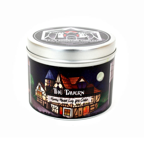 The Tavern: RPG Adventure Scented Candle | Happy Piranha