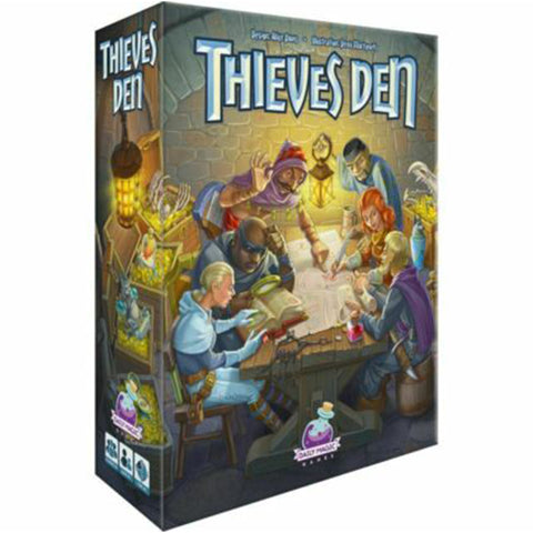 Thieves Den Board Game | Happy Piranha