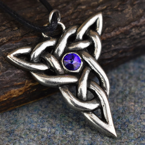 Trinity Knot Pewter Celtic Design Pendant | Happy Piranha