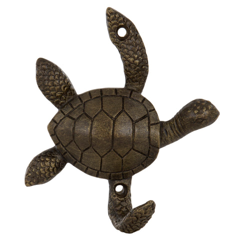 Turtle Metal Wall Hook | Happy Piranha