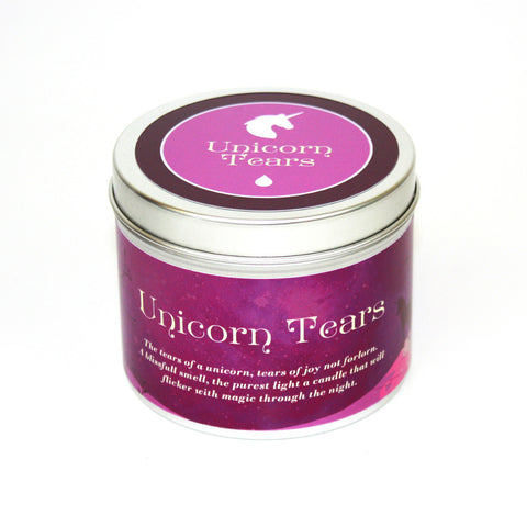 Unicorn Tears Scented Candle - Happy Piranha Gifts