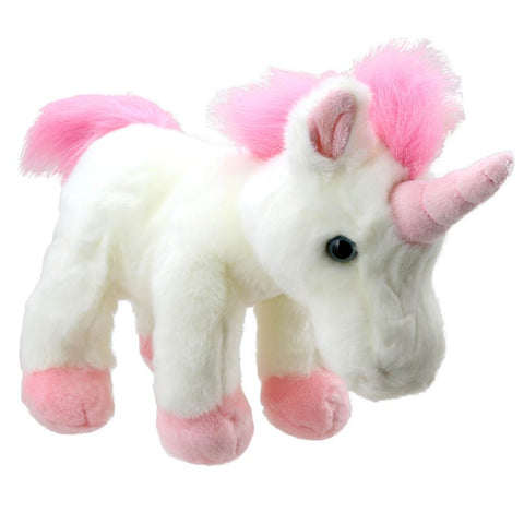 Majestic Unicorn Soft Toy Teddy Bear Standing on all Fours | Happy Piranha