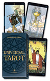 Universal Tarot: Professional Edition Box and Card Examples | Happy Piranha