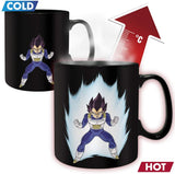 Dragon Ball Z Vegeta King Size Heat Changing Mug | Happy Piranha