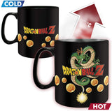 Dragon Ball Z Vegeta King Size Heat Changing Mug back design | Happy Piranha