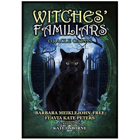 Witches' Familiars Oracle Card set | Happy Piranha