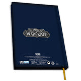 World of Warcraft For The Alliance Notebook Back Design | Happy Piranha