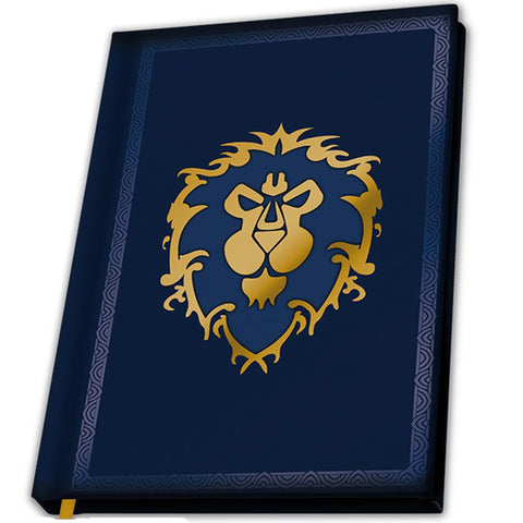 World of Warcraft For The Alliance Notebook | Happy Piranha