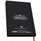 World of Warcraft For The Horde Notebook Back Design  | Happy Piranha