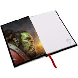 World of Warcraft For The Horde Notebook Inside Cover Design | Happy Piranha