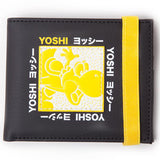 Super Mario Festival Yellow Yoshi Bifold Wallet | Happy Piranha