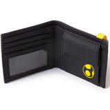 Super Mario Festival Yellow Yoshi Bifold Wallet Interior Compartments | Happy Piranha