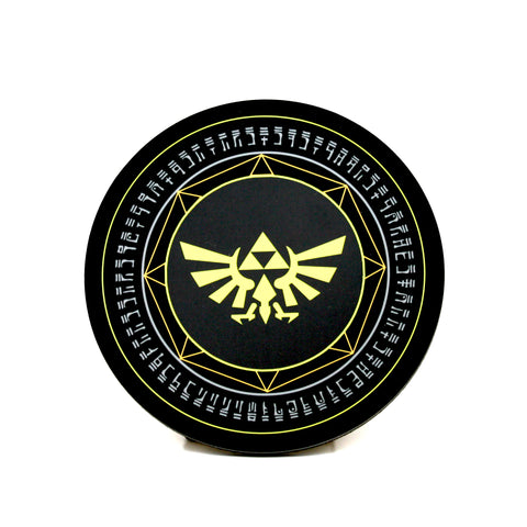 Triforce Wingcrest Coaster | Happy Piranha