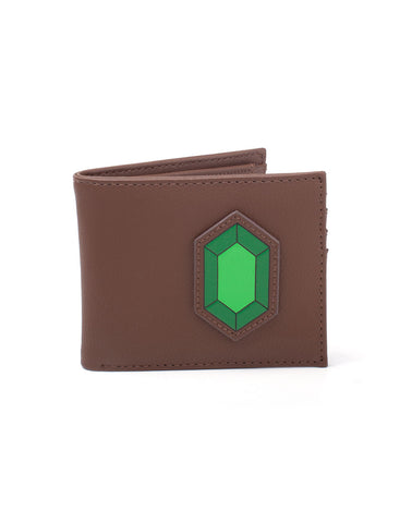 Zelda Green Rupee Bifold Wallet | Happy Piranha