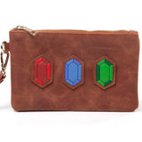 Legend of Zelda Rupees Clutch Purse/Bag Front Design | Happy Piranha