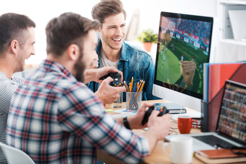 Nagging Questions: Video Games in the Office