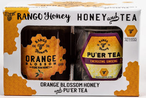 Orange Blossom Honey Puer Tea-Rango Honey and Tea