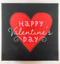Load image into Gallery viewer, Black and Red Valentines Day Gift Box