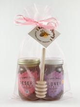 Load image into Gallery viewer, 6 oz. Gift Bag Duo Set with Honey Dipper