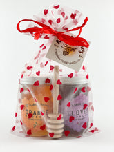 Load image into Gallery viewer, 6oz. Gift Bag Duo Set with Honey Dipper