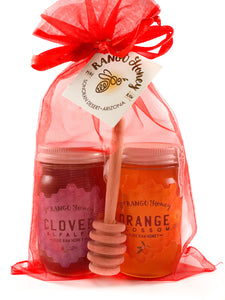 6oz. Gift Bag Duo Set with Honey Dipper