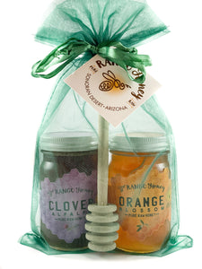 6oz. Clover Alfalfa and Orange Blossom Gift Bag with Dipper