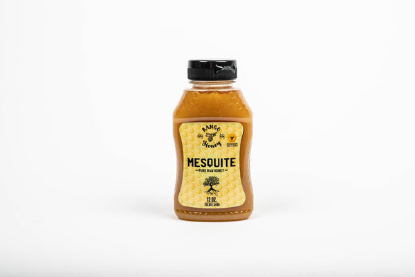 Mesquite | 100% Pure, Raw, Natural Arizona Honey | Squeeze Bottle