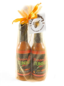 Pepper Junkie Duo Gold Gift Bag