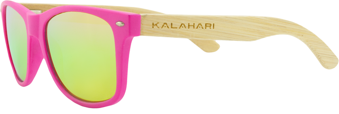 Neon Pink + Yellow Polarized