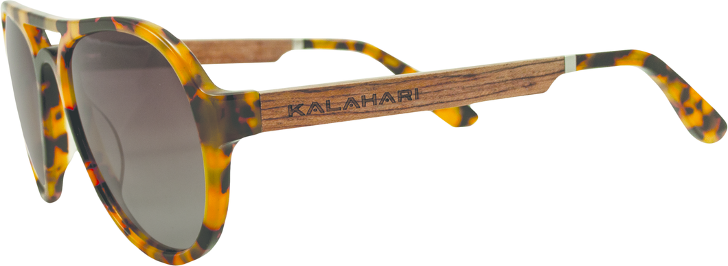 Tortoise Shell + Gradiant Brown Polarized