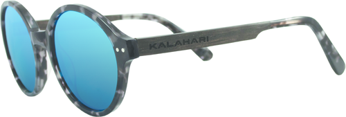 Gray Tortoise Shell + REVO Blue Polarized