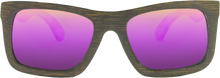 Brown Bamboo + REVO Pink Polarized