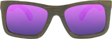 Brown Bamboo + REVO Purple Polarized