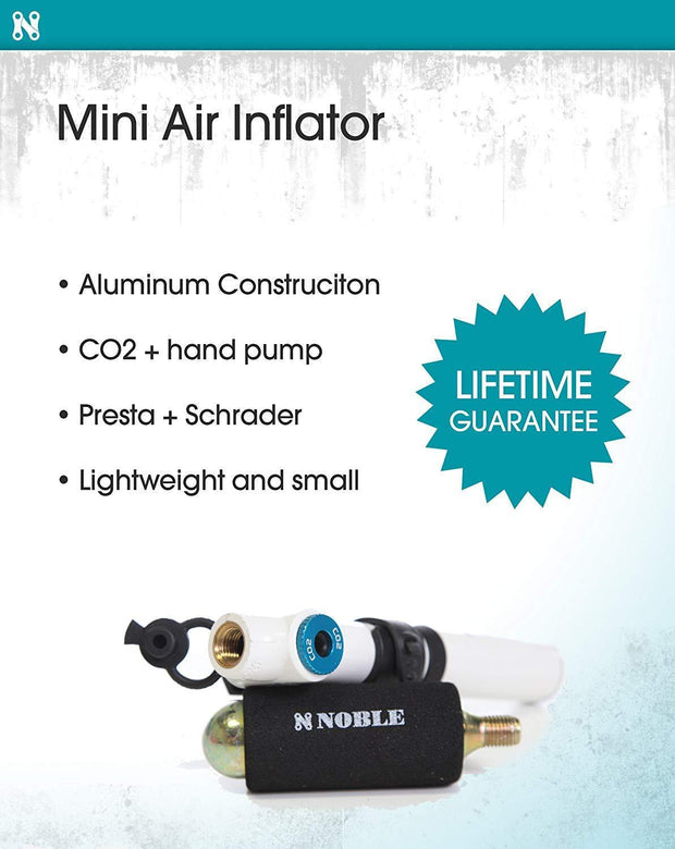 Portable Mini Air Inflator Pump with CO2 Pressure Valve