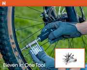 11 in 1 Multi Purpose Bike Accessory Tool