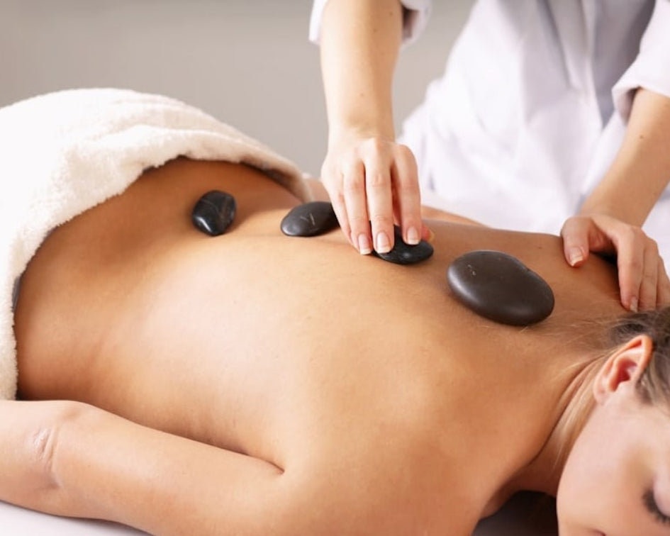 Hot Jade Stone Massage