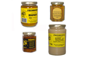 Unpasteurized honey natural pure variety