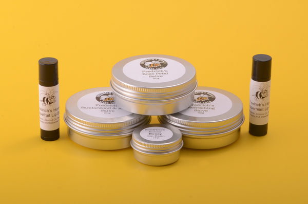 Natural Cosmetics with Pure Honey Beeswax