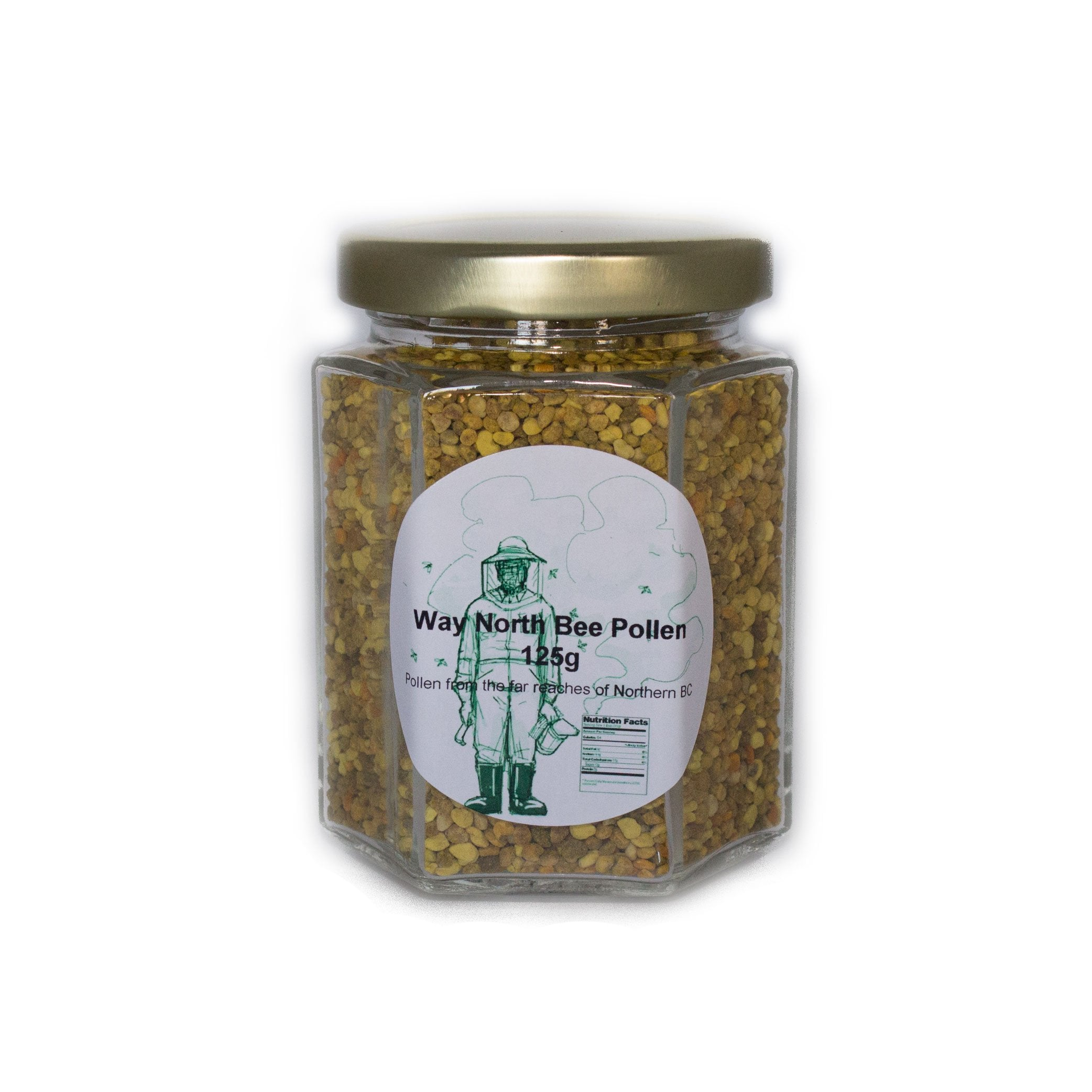 Bee pollen pure from clover golden rod