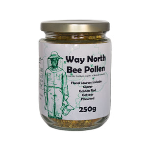 Bee pollen pure from British Columbia