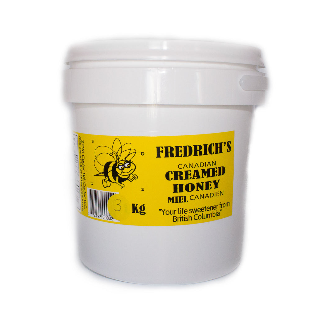 Honey creamed pure natural unpasteurized bulk