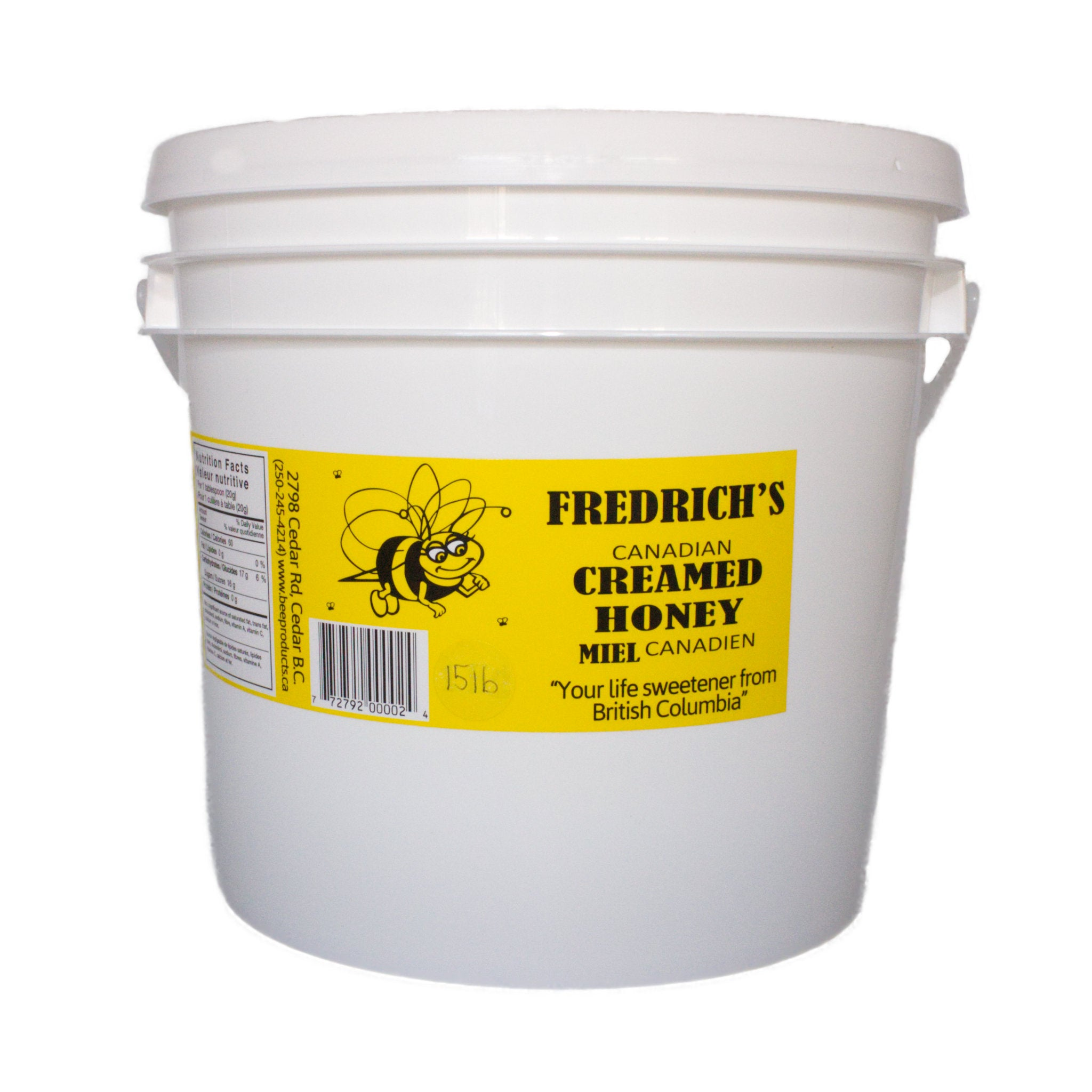 Creamed Honey - Unpasteurized Bulk Size