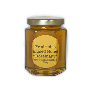 Honey with rosemary raw unpasteurized