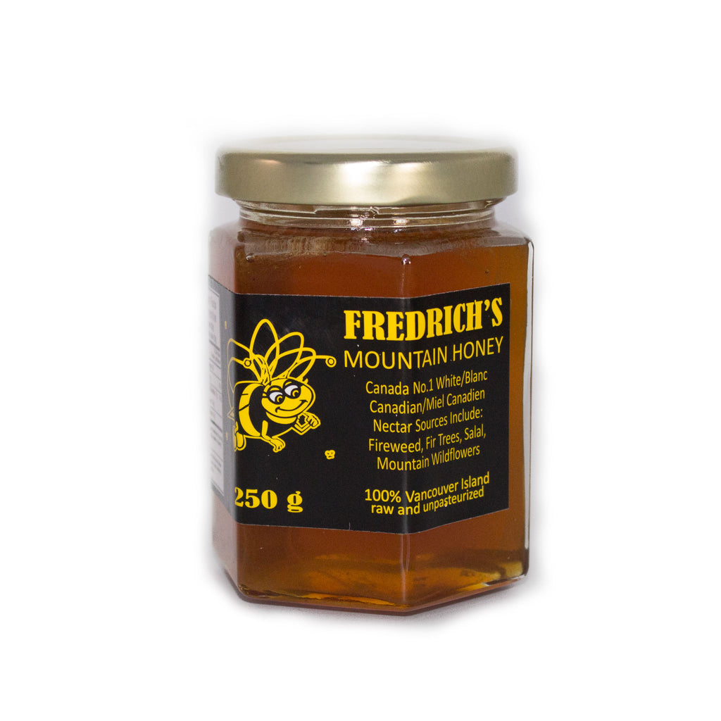 Honey raw and unpasteurized from fireweed fir