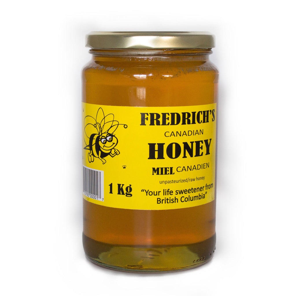 Honey pure raw unpasteurized natural 1 kg